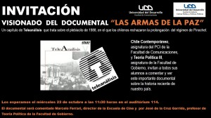 INVITACIÓN ARMAS DE LA PAZ