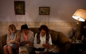 Violeta, Tere Munchmeyer y Shenda