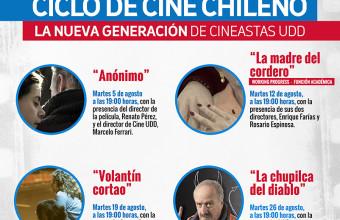 Premiadas películas de Cine UDD llegan a ciclo en El Bosque