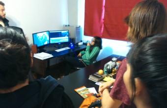 Estudiantes de Cine UDD visitaron Retina HD