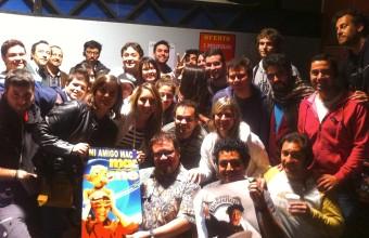 Estudiantes de Cine UDD conocieron la magia de la serie Los 80