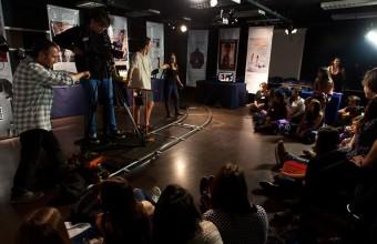 Vive UDD: Alumnos de enseñanza media vivieron la experiencia del cine