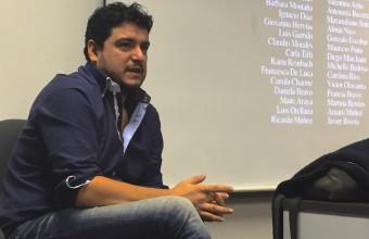Director de Talión conversó con estudiantes de Cine UDD