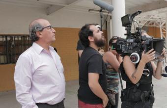 Estudiantes de Cine UDD filmaron cortometraje en 16 mm