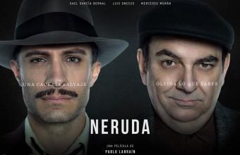 Imperdible: esperada película Neruda se prestrena en Cine UDD