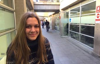 Cine UDD: El mejor semestre de una estudiante española