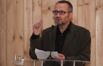 El discurso de Marcelo Ferrari en Proyecta Cine UDD