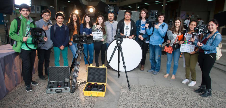 Registro Fotográfico Actividad EXPLORA 2016 para las carreras de Cine,Periodismo y Publicidad UDD. En Santiago:06/10/2016. Fotógrafo: Valentino Saldivar.