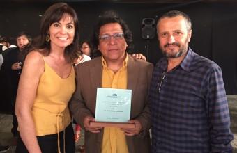 """""""Es un reconocimiento que representa a todos los profesores de Cine UDD"""""""