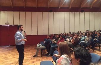 Con charla motivacional se dio comienzo al segundo proyecto Crowdfunding entre UDD y Hogar de Cristo