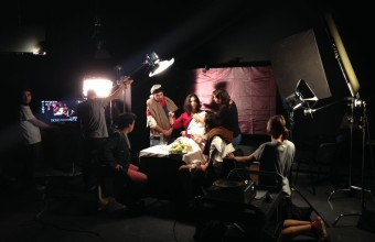 Estudiantes de cine UDD pintaron con luz reconocidas obras de la Pintura Barroca