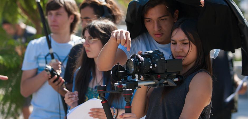 Registro Fotográfico del Rodaje Transversal 2017 de los alumnos de Cine UDD. En Santiago:31/03/2017. fotógrafo: Valentino Saldivar.