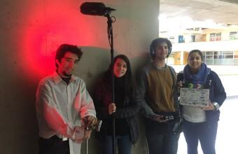 Estudiantes de Cine UDD se sumergieron en un plano secuencia