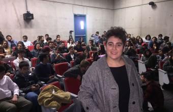 """Pepa San Martín en Plenaria UDD: """"Todos tenemos algo que comunicar"""""""