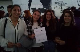 La experiencia de alumnas de 1er año en el X Encuentro de Cine Escolar