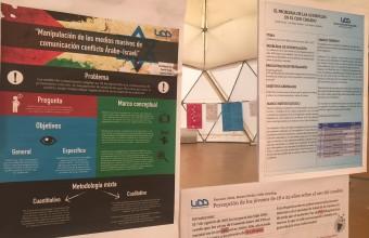 Abierta exposición de posters del ramo de Investigación de Audiencias