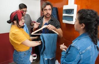 """Koke Santa Ana sobre Rodaje Transversal: """"Fue muy constructivo aprender de los alumnos"""""""