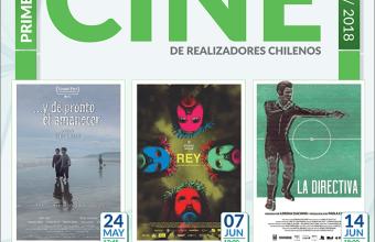 Destacadas películas de 2017 se exhibirán en Ciclo de Cine de Realizadores Chilenos