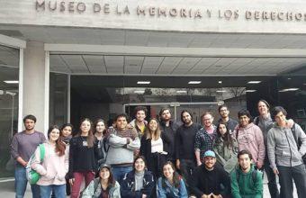 Alumnos de Cine UDD visitaron el Museo de la Memoria