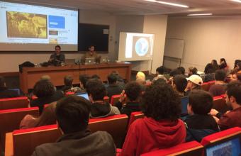 Desde el campo a la geolocalización: Charla de historiador Gonzalo Cáceres en Cine UDD