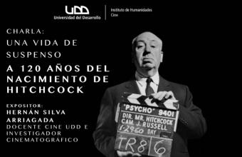 Cine UDD honra a Alfred Hitchcock a 120 años de su nacimiento