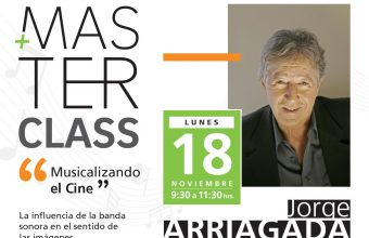 Jorge Arriagada dictará Master Class en GAM: