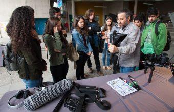 ¿Quieres ser cineasta? Ten una charla con nuestro director Marcelo Ferrari