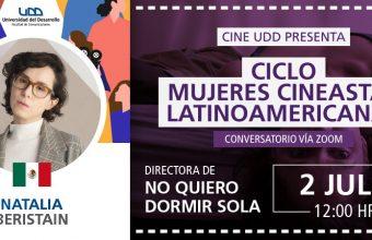 Natalia Beristain llega al ciclo Nuevo Cine Mujeres Latinoamericanas