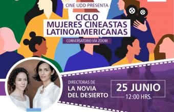 Cecilia Atán y Valeria Pivato darán una masterclass en ciclo Nuevo Cine Mujeres Latinoamericanas