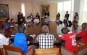 Alumnos de Publicidad UDD asistieron a la firma del convenio