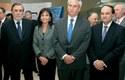 Marcos Lima, Carolina Mardones, Fernando Coloma y Cristián Bastián