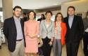 Juan Pablo Iglesias, Fernanda Otero, Loreto Daza, Bernardita del Solar y Felipe Contreras
