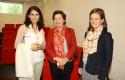 Marcela Lorca, María José Lecaros y Francisca Greene