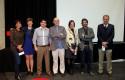 Foto expositores y organizadores