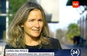 Carola Pesce, TVN