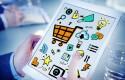 Businessman Online Marketing Digital Devices Working Concept