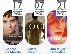 Ciclo de Cine Chileno 2017 Noviembre imagen web