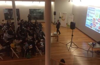 """Proyecta Cine UDD realiza conferencia sobre """"Redes Sociales para Emprendedores Creativos"""""""