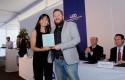 Premiación profesores Paulo Aguila