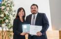 Premiación profesores Sergio Amín