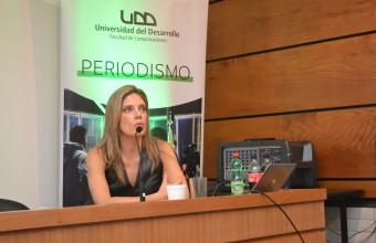 Mónica Rincón inaugura el año académico de Periodismo UDD Concepción