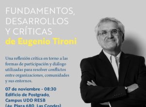 FACULTAD DE COMUNICACIONES INVITA A LA PRESENTACIÓN DE NUEVO LIBRO DE EUGENIO TIRONI