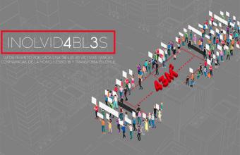 """""""Inolvid4bl3s"""": la intervención de dos publicistas UDD para la marcha del Orgullo LGBTI+"""