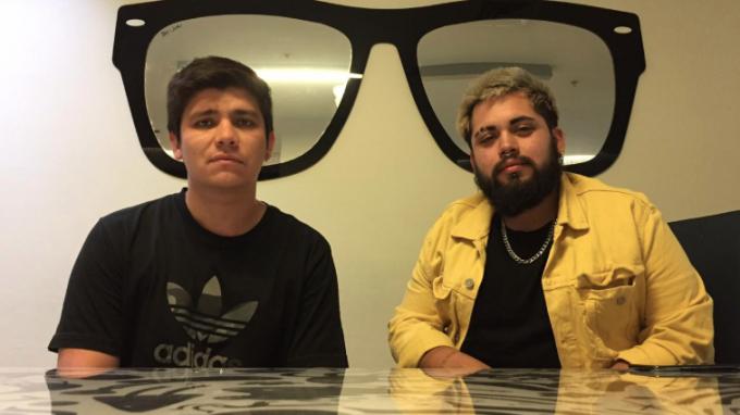 Dante Bravo y Rodrigo Pérez