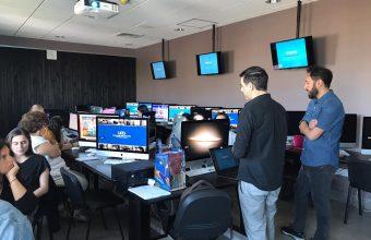 Asociación Nacional de la Prensa realiza Taller de Infografía en la UDD