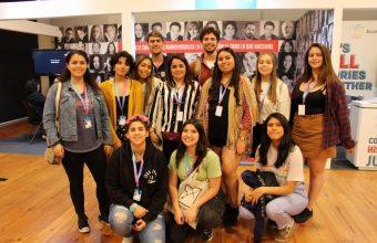 Alumnos de Cine UDD realizan viaje académico a Buenos Aires para participar en Ventana Sur