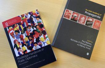 Profesor Daniel Aguirre publica en importantes manuales internacionales sobre propaganda y diplomacia pública