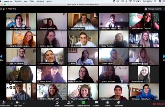 Alumnos de Publicidad participan en innovadora versión virtual de Porta School 2020