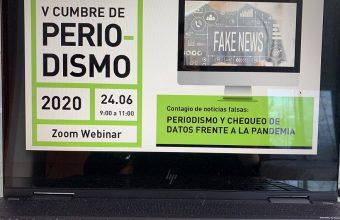 V Cumbre de Periodismo UDD: El chequeo de datos frente a la pandemia