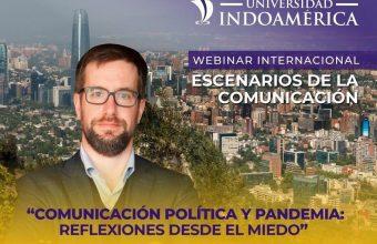 Alberto Pedro López-Hermida expone sobre Comunicación Política y Pandemia en encuentro internacional